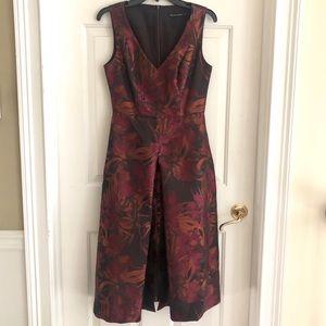 Black Halo Midi Cocktail Dress, Size 4